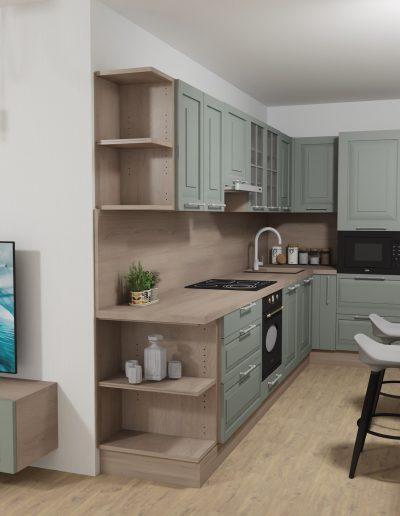 štýlová kuchyňa 1