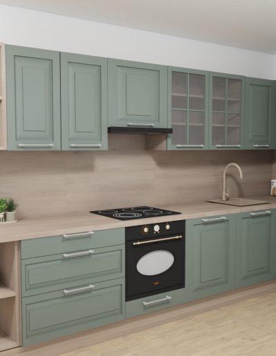 štýlová kuchyňa 2